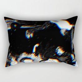 Playboi Carti - Die Lit (Split Color Glitch Effect) Rectangular Pillow