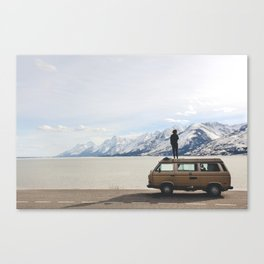 Wander the West Canvas Print