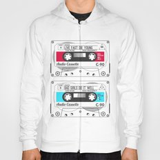 Audio Cassette SIDE A ▲LIVEFASTDIEYOUNG▲ RED Hoody