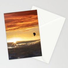 The Orange Adventurer - Sky & Balloon Stationery Cards