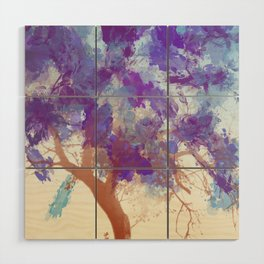 Water Your Tree of Life. Wood Wall Art