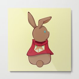 Carrot Warrior Metal Print