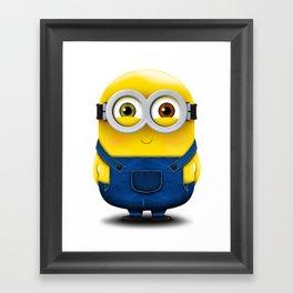 Minion BOB (Blushed) Framed Art Print