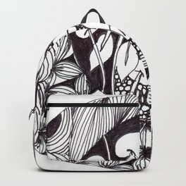 Zen Doodle Graphics zz17 Backpack