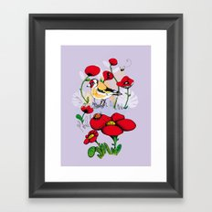 Chardonneret Framed Art Print