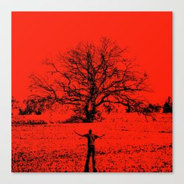sacred tree Canvas Print