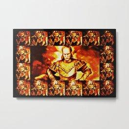 Ghostbuster Vigo Metal Print