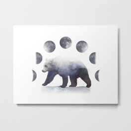 Moon Bear Metal Print