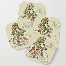 Robot Cyclist Coaster
