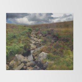 Wicklow Mountains, Republic of Ireland Throw Blanket