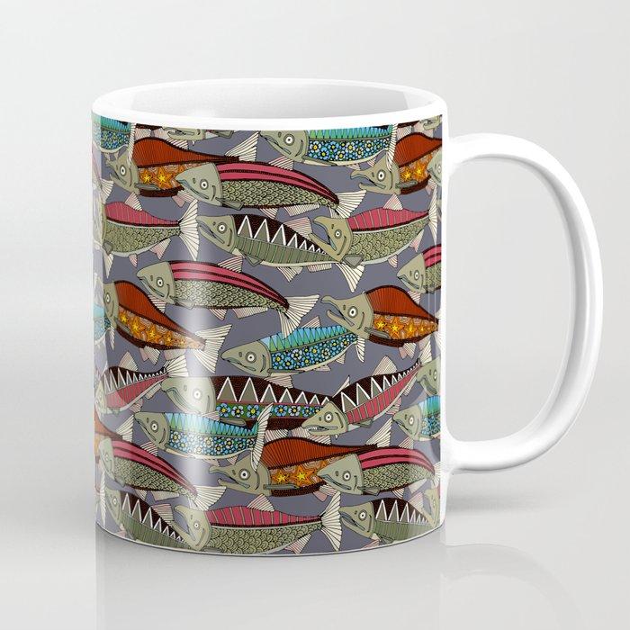Alaskan salmon dusk Coffee Mug