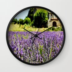 A place to be . photography Wall Clock