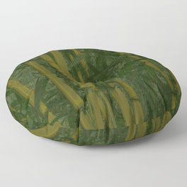 Bamboo jungle Floor Pillow