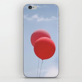 Red Balloons iPhone Skin