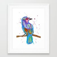 coco Framed Art Prints featuring coco by Laurie Art Gallery