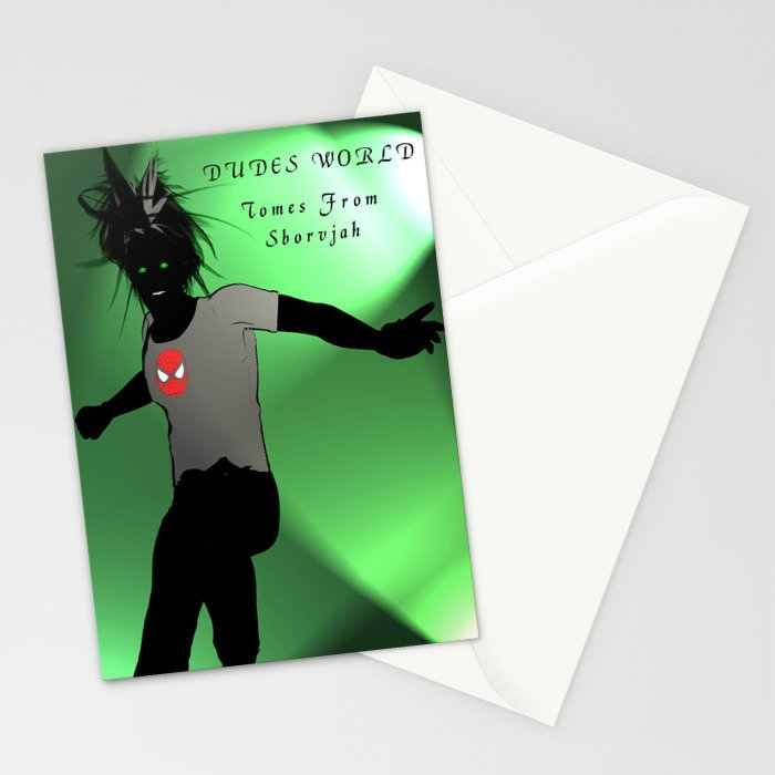 Dudes World: Tomes from Sborvjah Stationery Cards
