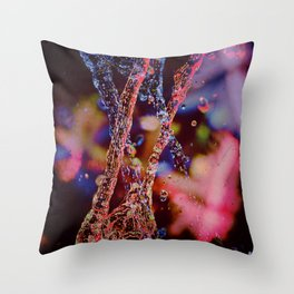 Double water Throw Pillow