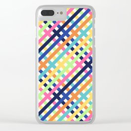 OverlaXes Strips Clear iPhone Case