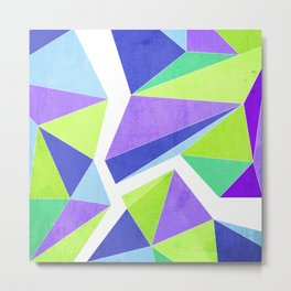 Fracture - Color Metal Print