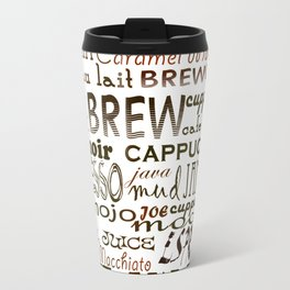 Coffee - In So Many Words Travel Mug