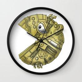 Steampunkman Wall Clock
