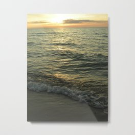 Michigan Sunset 1 Metal Print