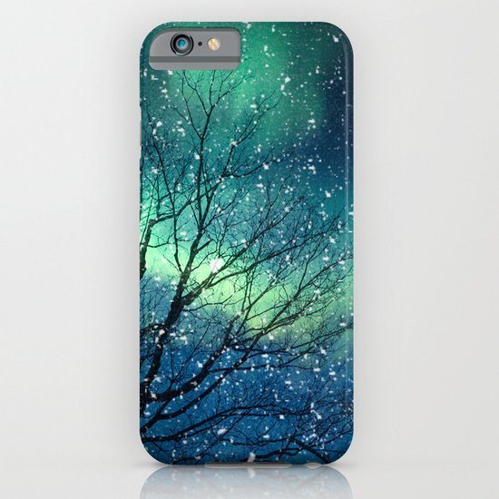 Aurora Borealis Northern Lights iPhone & iPod Case