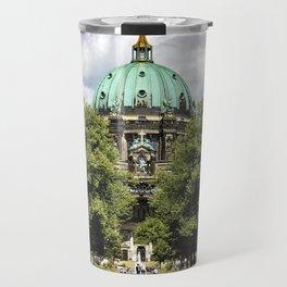 Spying the Berliner Dom. Travel Mug