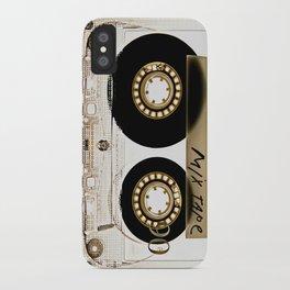 Retro classic vintage transparent mix cassette tape iPhone Case
