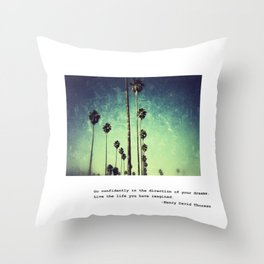 Live the life you have imagined #2 Throw Pillow