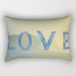 love surf Rectangular Pillow