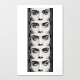 Cara Rolls Canvas Print