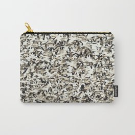 Snow Geese Migration Carry-All Pouch