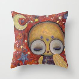 Ophelia's Nocturne Throw Pillow