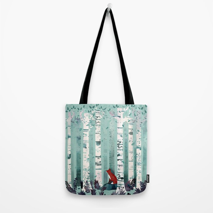 The Birches Tote Bag