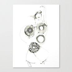 Danseuse Spiral  Canvas Print