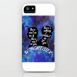 Winchester Brothers iPhone Case
