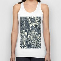 mermaid Tank Tops featuring MERMAID by Monika Strigel