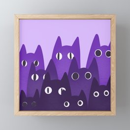 Cats Framed Mini Art Print