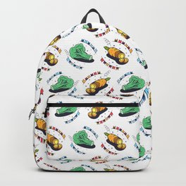 Broccoli and carrots Backpack