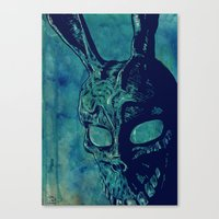 donnie darko Canvas Prints featuring Donnie Darko by Giuseppe Cristiano
