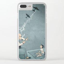 Grampa Clear iPhone Case