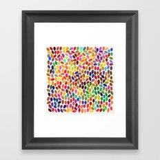 rain 13 Framed Art Print