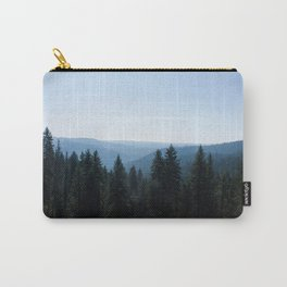 Scenic Tree Lined Valley Photography Print Carry-All Pouch