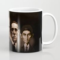 kafka Mugs featuring Classics never die... by Poe Collection (by David G. Forés)