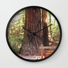 Armstrong Woods 3406 Wall Clock