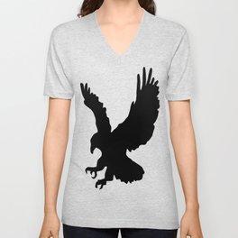 Eagle Silhouette Unisex V-Neck