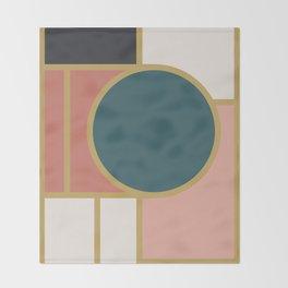 Maximalist Geometric 05 Throw Blanket