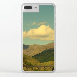The Glenfinnan Viaduct Clear iPhone Case