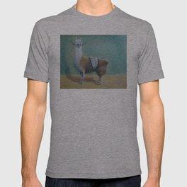 Dali Llama Funny Mustache Melted Clock Salvador Dadaism T-shirt